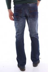 Pánske zateplené rifľové nohavice DOCKHOUSE (D6015-1) - modré #1