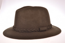 Pánsky klobúk - tmavozelený