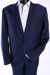 Pánsky oblek ADAM (v. 182 cm) - tmavomodrý
