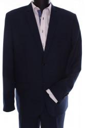 Pánsky oblek ARTUR (v. 182 cm) - čierno-modrý