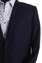Pánsky oblek CARLO KLASIK s dvoma rozparkami (v. 176 cm) - tmavomodrý #1