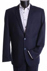 Pánsky oblek CARLO (v. 176 cm) - tmavomodrý