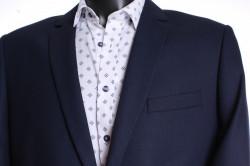 Pánsky oblek CARLO (v. 176 cm) - tmavomodrý #1