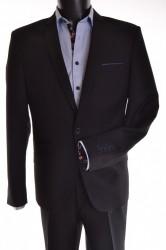 Pánsky oblek - čierny (v. 182 cm) P10