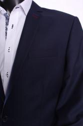Pánsky oblek DARIO (v. 176 cm) - tmavomodrý #1