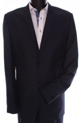 Pánsky oblek GORDON (KLASIK) v. 176 cm - sivo-modrý