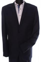 Pánsky oblek GORDON (KLASIK) v. 188 cm - sivo-modrý
