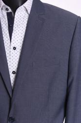 Pánsky oblek HARRY (v. 182 cm) - sivo-modrý #1