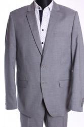 Pánsky oblek JULIAN (v. 182 cm) - bledosivý