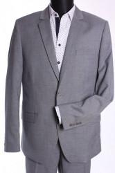 Pánsky oblek JULIAN (v. 182 cm) - bledosivý #1