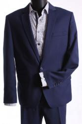 Pánsky oblek LEVIS SLIM FIT (v. 182 cm) - čierno-modrý