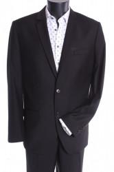 Pánsky oblek MARCO - čierny 4. (v. 176 cm)