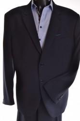 Pánsky oblek - modročierny (v. 182 cm)