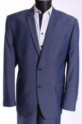 Pánsky oblek RODEN (v. 176 cm) - modrý