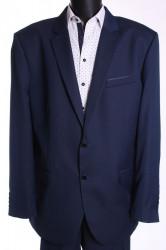 Pánsky oblek ROLAND SYLWETKA B. (v. 188 cm) - čierno-modrý