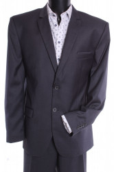 Pánsky oblek SARY B - sivý (v. 182 cm)