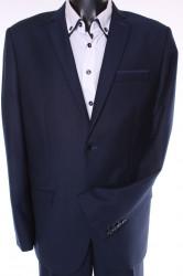 Pánsky oblek - tmavomodrý (v. 188 cm)