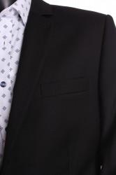 Pánsky oblek (v . 176 cm) - čierny 4. #1
