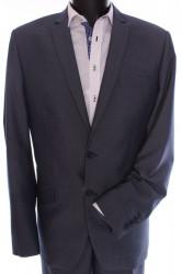 Pánsky oblek (v. 176 cm) - sivo-modrý
