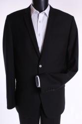 Pánsky oblek (v. 182 cm) - čierny 3.