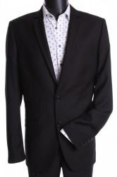 Pánsky oblek (v . 182 cm) - čierny 4.