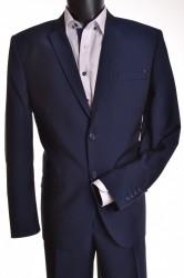 Pánsky oblek (v. 182 cm) - modrý
