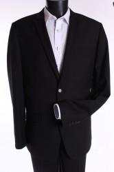 Pánsky oblek (v. 188 cm) - čierny 3.