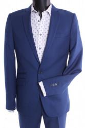 Pánsky oblek VIOLI - kráľovský modrý (v. 182 cm)