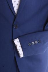 Pánsky oblek VIOLI SLIM FIT - kráľovský modrý (v. 188 cm) #1