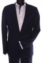 Pánsky oblek Žaba (v. 182 cm) - čierno-modrý
