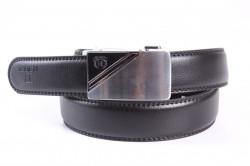 Pánsky opasok VZOR 18 - čierny (š. 3,3 cm)