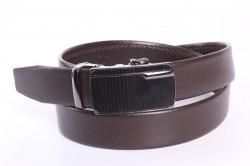 6d041be03 Pánsky kožený opasok VZOR 1. - hnedý (š. 3,5 cm) PD-4054 - Pánske ...