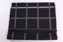 Pánsky šál (6051) (180x31 cm) - čierny 1.