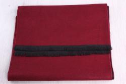 Pánsky šál (6065) (31x180 cm) - bordový