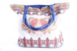 Plážová taška 19017 (55x43x20 cm) - modrá #1