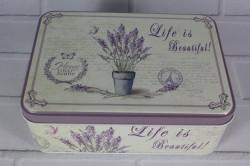 Plechová krabica