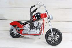 Plechové motorka