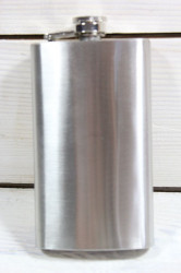 Ploskačka - strieborná v: 12 cm