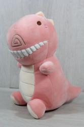 Plyšová hračka DINO (99068) - ružová (23x25 cm)