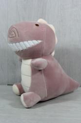 Plyšová hračka DINO (99068) - staroružová (23x25 cm)