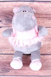 Plyšová hračka HROCH - ružovo-sivá (v. 35 cm)