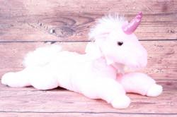 Plyšová hračka JEDNOROŽEC - ružový (d. 46 cm)