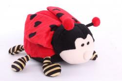 Plyšová hračka LIENKA - červená (22 cm)