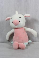 Plyšová hračka PRASIATKO (99082) - ružová (v. 33 cm)