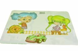 Podložky pod tanier - dievčatko