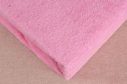 Prestieradlo na posteľ - ružové (180x200 cm)