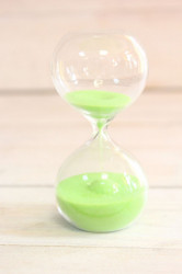 Presýpacie hodiny - zelený piesok