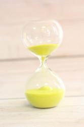 Presýpacie hodiny - žltý piesok