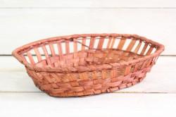 Prútený košík (25,5x6,5x17,5 cm)