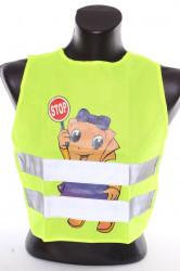Reflexná detská vesta s obrázkom